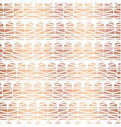 copper foil doodle shape seamless pattern vector image