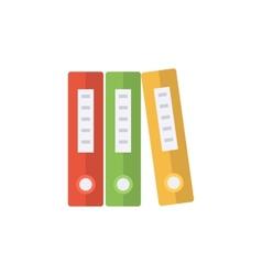 Document folders vector