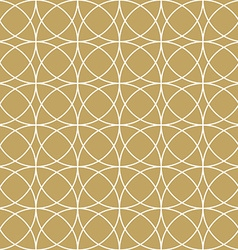Elegan Gold Circle Pattern vector