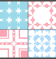 four style tile vector image