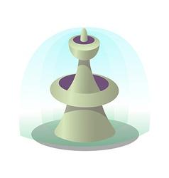 Icon fountain vector