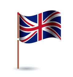 Isolated united kingdom flag design vector