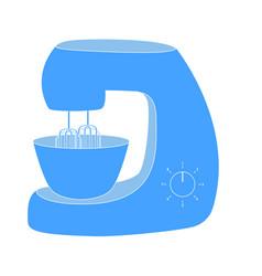 mixer blende kitchen icon vector image