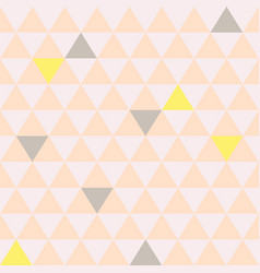 Mosaic triangle tiles seamless pattern vector