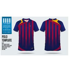 polo t-shirt sport template design vector image