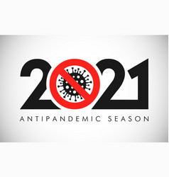 2021 stop coronavirus vector