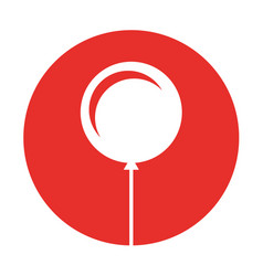 balloon air party icon vector image