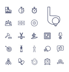Competition icons vector
