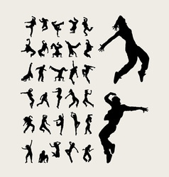 Dancer Silhouette vector