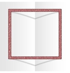 Frame Sequins Square Glitter sparkle vector