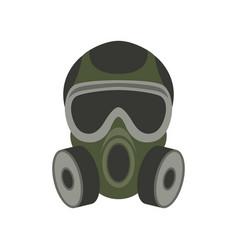 gas mask flat vector image