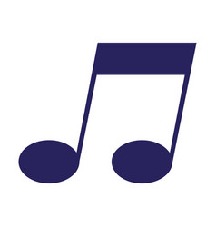note music melody on white background vector image
