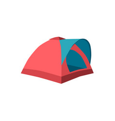 Set of tourist tents collection camping tent vector