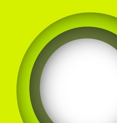 Abstract green background with copy space vector image vector image