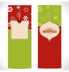 Christmas banner background vector