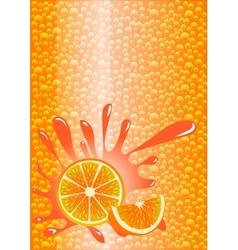 Orange lemonade vector image vector image