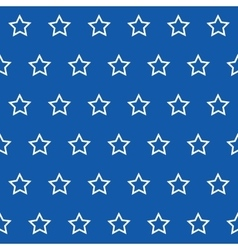 Abstract Seamless geometric pattern with stars on vector image