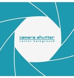 Camera shutter background vector