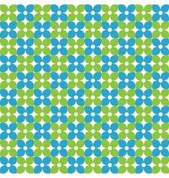fresh flower pattern stock vector image