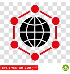 Global Frame Eps Icon vector