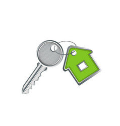 Housewarming and key to your house vector