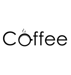 Logo coffee vector