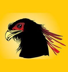 Phoenix head vector