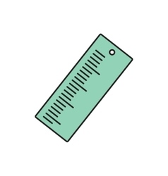 ruler icon Eps10 vector image vector image