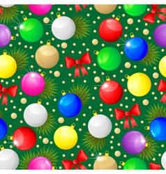 balls seamless back vector image vector image