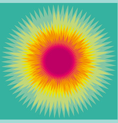 Colorful sunny abstract background vector