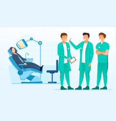 Medicine dental concept vector