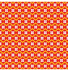 small flower pattern stock vector image
