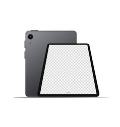 Tablet icon on a white background for mockup vector