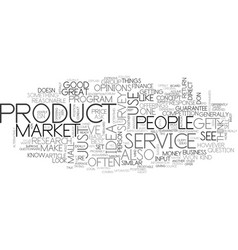 Will your great idea sell text word cloud concept vector