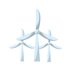 Windpower technology to environment protection vector