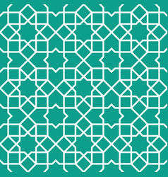traditional islamic ornament vector image vector image