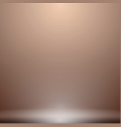 Abstract luxury brown gradient with lighting vector