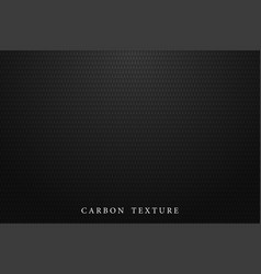 Black carbon texture dark background vector