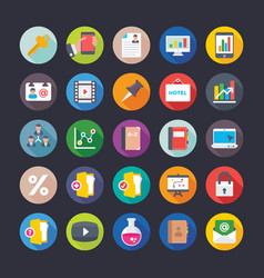 Business and office icons 13 vector