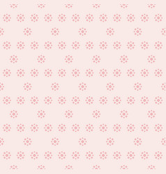 delicate pink floral seamless pattern with vector image