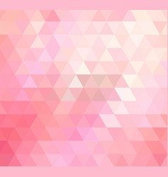 light pink polygonal template colorful vector image