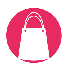 paper gift bag icon vector image