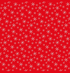 seamless background for christmas with snowflakes vector image