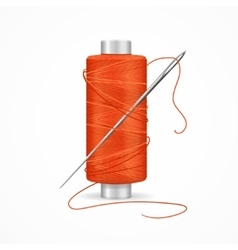 Thread Spool vector image