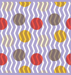 transparent circles pattern vector image