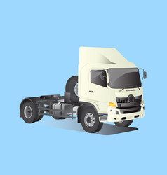 truck car model perspective vector image