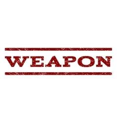 Weapon watermark stamp vector