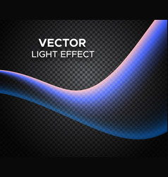 light effect on checkered background vector image vector image