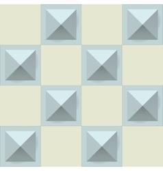 Texture diamond plate seamless Metal or plastic vector image vector image
