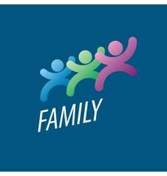 logo family vector image vector image